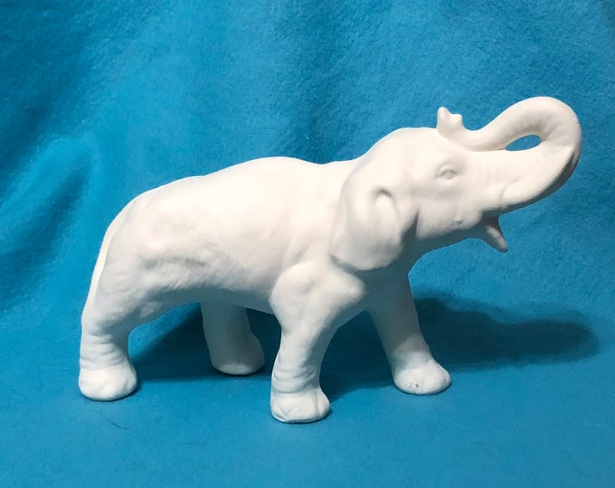 Ceramic Elephant Bisque ready to paint