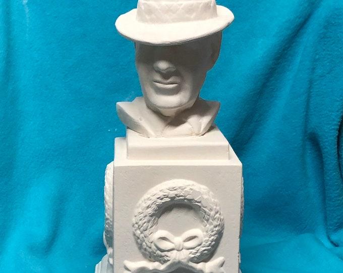 Bear Bryant Statue Ceramic Bisque