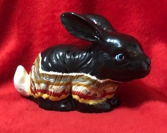 Glazed Ceramic Bunny Rabbit