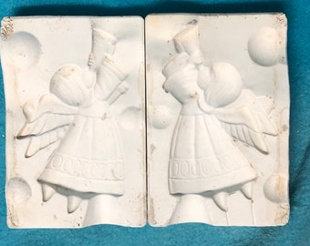 Angels with Trumpets Mold by Alberta's Molds