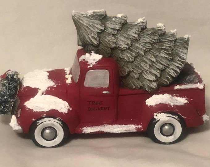 Classic Pickup with Tree