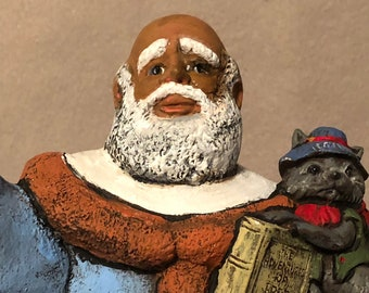 Uncle Remus Santa Ceramic Art