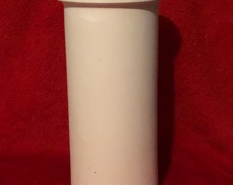 Vintage Ceramic Utensil Holder in bisque ready to paint