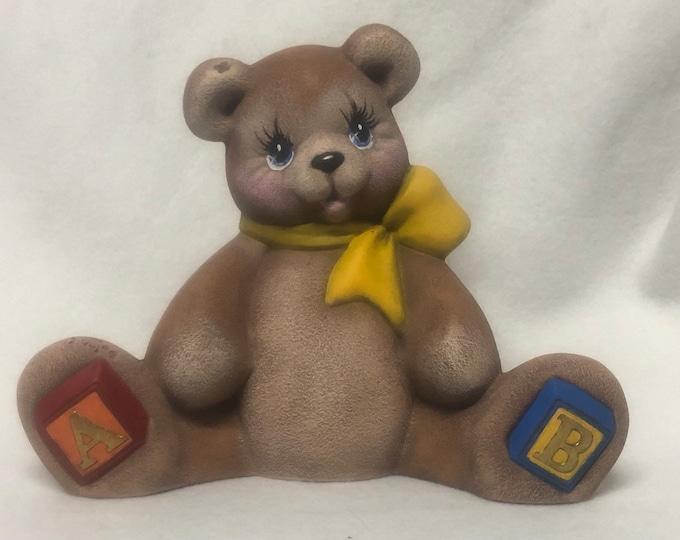 ABC Bear Ceramic Art