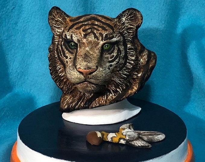 Auburn Tigers War Eagle Ceramic Art