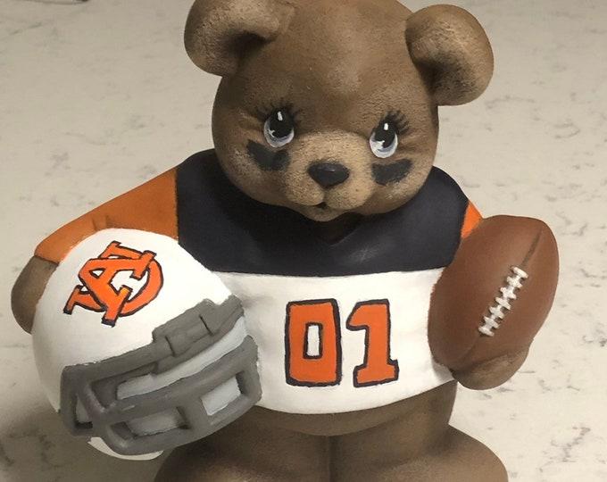 Auburn Bear Football Player