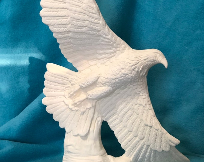 American Eagle ready to paint