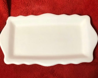 Soap Tray in ceramic bisque ready to paint
