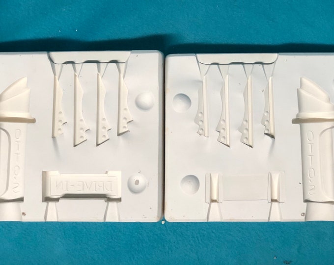 Drive In Accessories Mold by Petro Molds