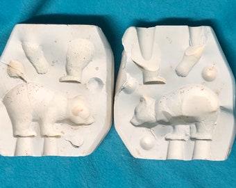 Baby Bears Mold by Scioto Ceramics