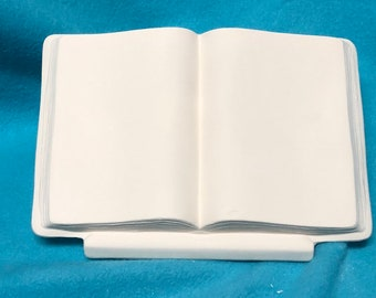 Book Ceramic Bisque