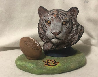 Auburn Tigers Ceramic Art