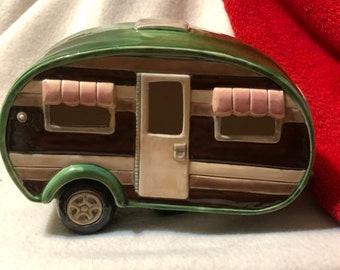 Glazed Ceramic Camper
