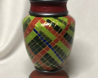 Decorative hand painted Ceramic Vase
