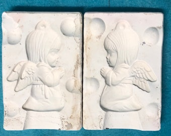 Angels Praying Ceramic Ornaments Mold by Alberta's Molds