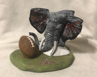 Roll Tide Roll Ceramic Art
