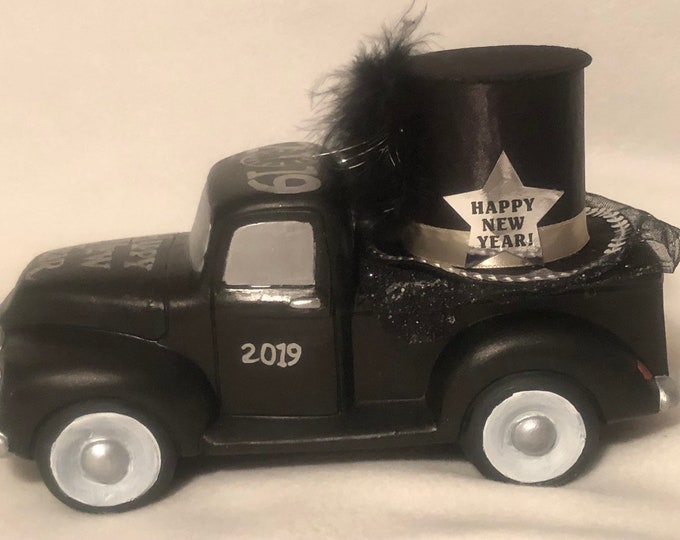 Limited Edition New Years 2019 Pickup Truck