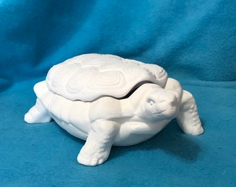 Ceramic Turtle Jewelry or Candy Dish