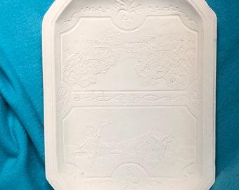 Ceramic Bisque Platter