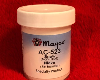 Mayco Non Fired Snow