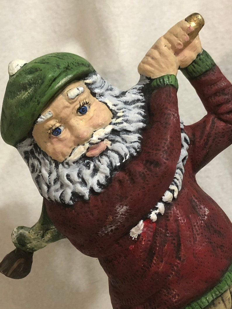 Ceramic Country Club Santa