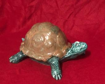 Glazed Ceramic Turtle