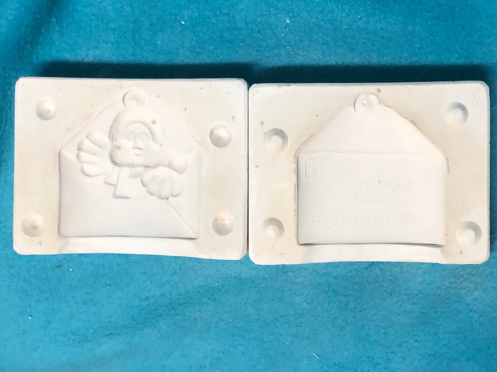 Hungry Bird Envelope Ornament Mold by Dona's Molds