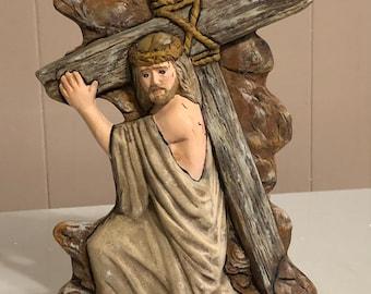 Jesus and the cross by jmdceramicsart
