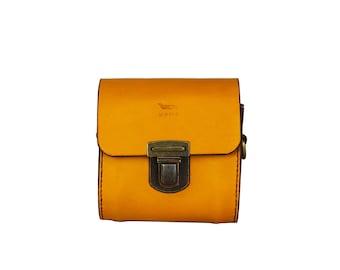 Little Coffer leather handbag