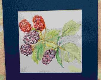 Greetings cards packs, Original art, Handmade, Birds, Flowers, Luxury Art Cards, Blank cards, Art gift, Birthday, Mother's Day, Notelets