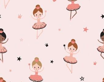 Jersey Ballerina pink 0,5 m