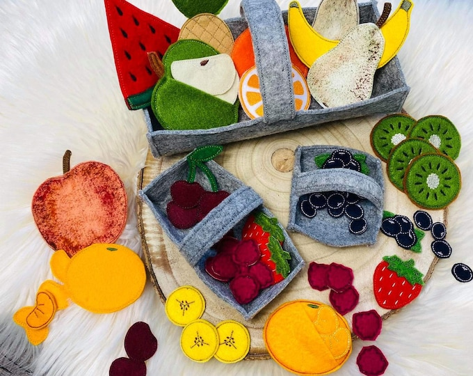 Featured listing image: 25 in 1 Set Embroidery Files ITH Fruit 10x10 Frame