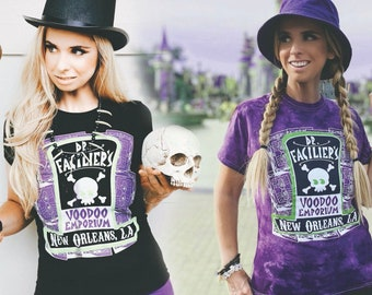 Dr Facilier Voodoo Emporium / Princess and The Frog New Orleans Shirt