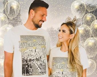 Disney 50th Anniversary Shirt Magic Kingdom