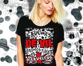 Cruella DeVil Shirt Disney Villain