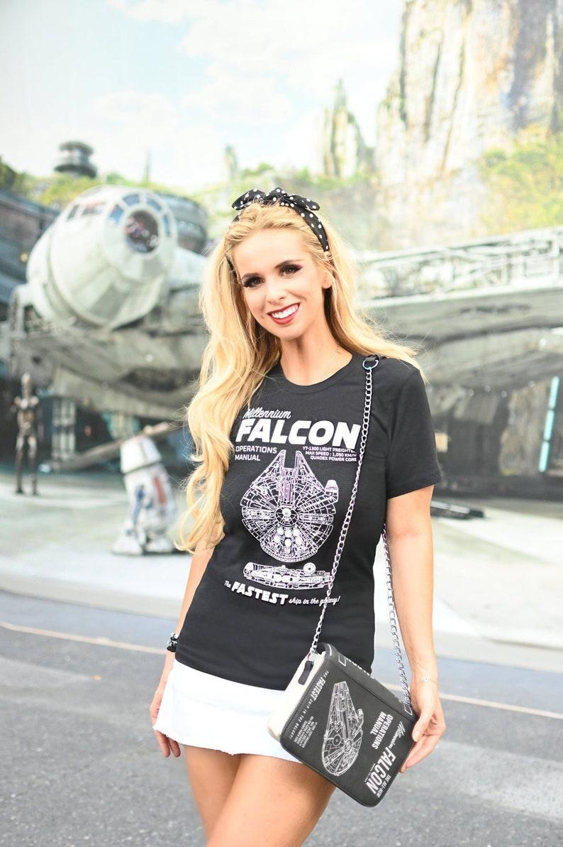 Millenium Falcon Shirt : Operations Manual Star Wars Shirt image 0