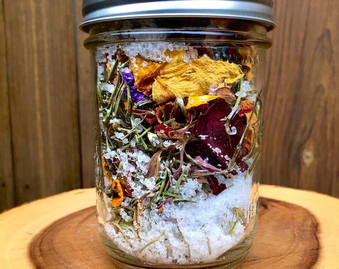 Spiritual Bath Tea & Seed Sprouter Kit Combination 16oz Jar
