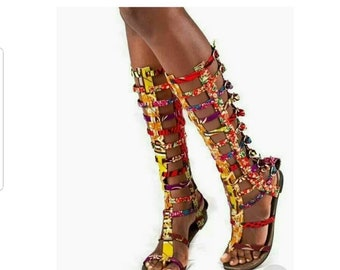 d68a8ce1a African print shoes