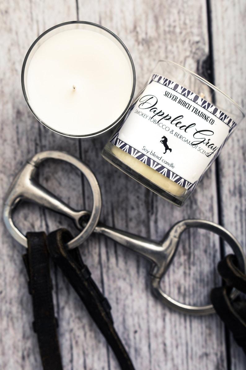 Horse  Dappled Grey  Smokey Tobacco & Bergamot Scented image 0