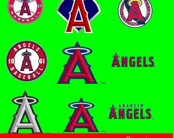 Anaheim Angels Svg Etsy
