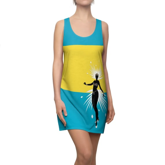 Dominica Queen Racerback Dress