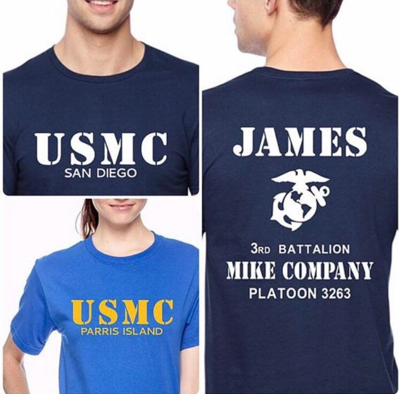 3rd Battalion Marine Family Day shirts India Co Kilo Co Lima Co Mike Co Quebec Co Marine Corps bootcamp graduation shirt USMC Graduation