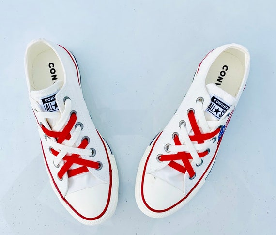 Betsy Ross Shoe American Flag Converse