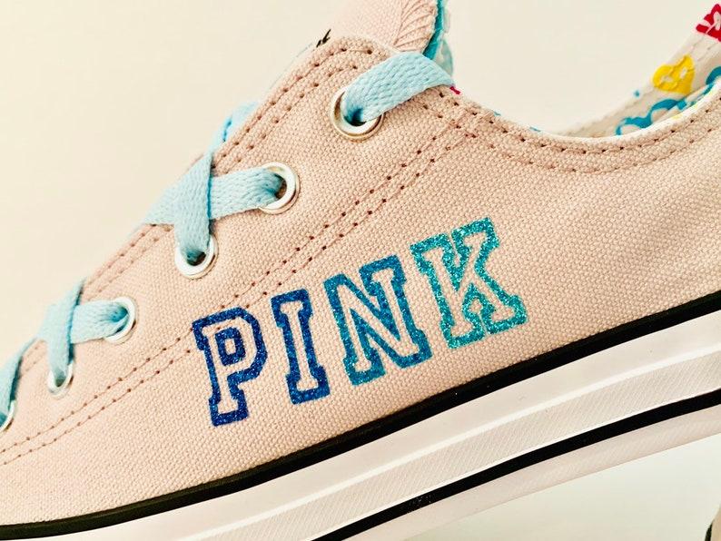7db3483576e2d Converse Pink Victoria's Secret Shoe