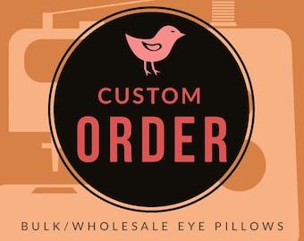 BULK/WHOLESALE Eye Pillows   Perfect for Yoga Retreats, Retail Shelves, Giveaways