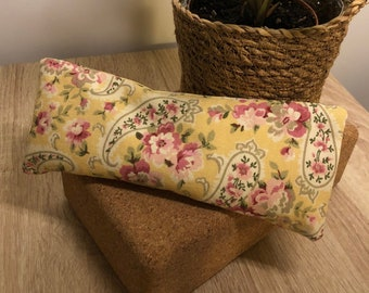 """Flax Eye Pillow """"DUCHESS"""" with Removable Cover"""