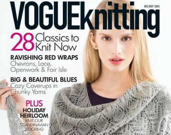 Vogue knitting | Etsy