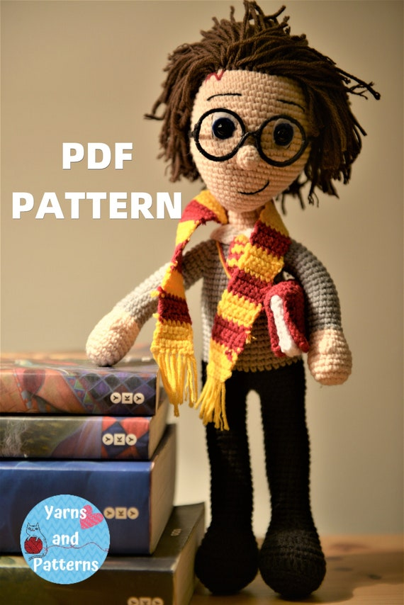 DIY Amigurumi Harry Potter amigurumi – Amigurumi Patterns | 854x570