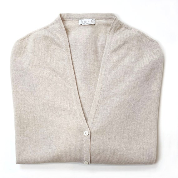 Barrie Cashmere V-Neck Cardigan Sweater