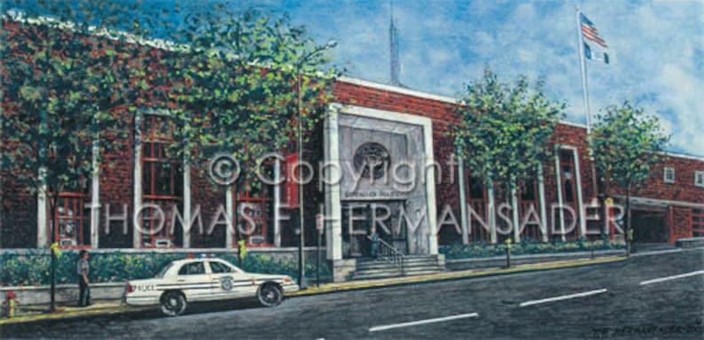 Lancaster Police Station ARTIST PROOF Print East image 0